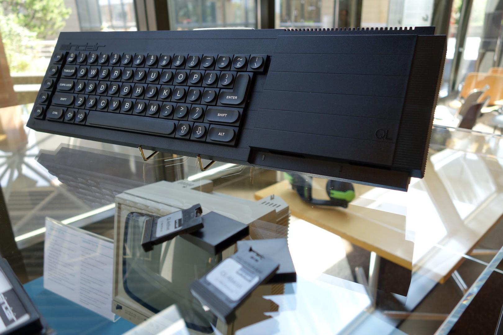 Le Sinclair QL fête ses 30 ans au musée Bolo